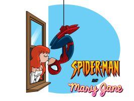 Superhero Wedding Images: Spider-Man and Mary Jane by Ollywood