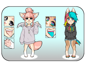 [Adopt] Anthro [CLOSED] by nyanami