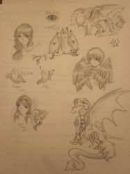 Sketches by Ashenjay