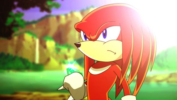 Knuckles Destiny - Sonic X by Alvc57