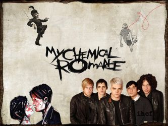 My Chemical Romance Wallpaper by ihatecrazyfrog