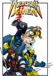 Wolverine and the X-Men Group Tee 2015