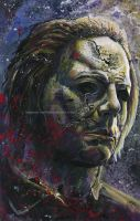 Halloween - Michael Myers - Painting by NateMichaels
