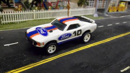 Ford Racing Mustang #10 by hankypanky68