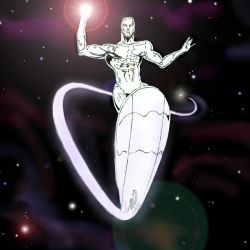 Silver Surfer by Amaniwolf