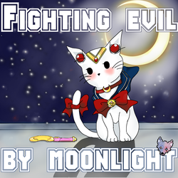 Sailor moon kittie by TwoFacedWolf