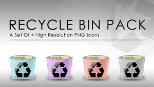 Recycle Bin Icon's by johnamann