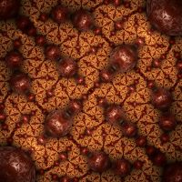 Marbles on a fractal plane by FractalDesire
