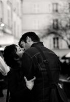.montmartre ii - le baiser by dippedFEATHER