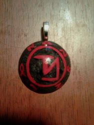 Supernatural Angel Banishing Sigil Pendant by drummerchica215