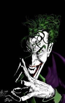The Joker by marcandredaoust