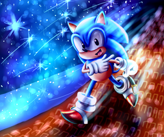 Classic Sonic by AnimeSplash13
