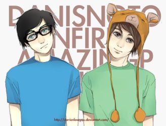 my first dan and phil by carrienloveyou
