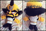 Commission and VIDEO: Small Toga Dr.Cortex Plushie by Sarasaland-Dragon