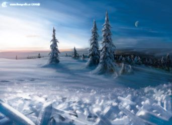 Concept: Snowscape by inetgrafx