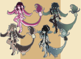 Opris Set Three - CLOSED by Mei--Adopts
