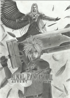 Final Fantasy VII - Advent Children by Dragias