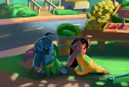 Lilo And Stitch by mlaunder