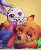 Hopps and Wilde by WhisperingDreamsart