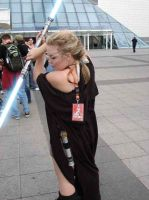 Star Wars CE with Lightsaber by FrannyBunny