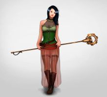 Request - Steam-punk lady by VanANtY