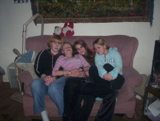 Arynne, Lacey me and Tanya- by penguine-joe