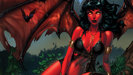 Purgatori Swords Of Sorrow Wallpaper by Vampirewiccan