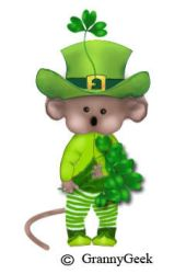 paddy mouse with hat by grannygeek
