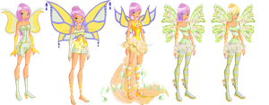 Winx 5 and 6: Krystal's Fairy Evolution by Gerganafen