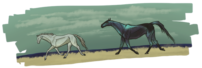 I don't wanna go - sweet mare chases pretty gurl by Ashadasha