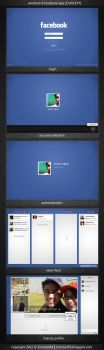 Windows 8 Metro Facebook App by Kronos454