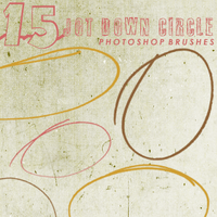jot down circle brushes by chokingonstatic