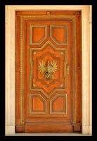 Door - Czapski Palace In Cracow by skarzynscy