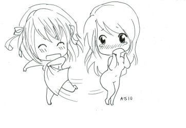 My towel D: uncolored by Amzi-licious