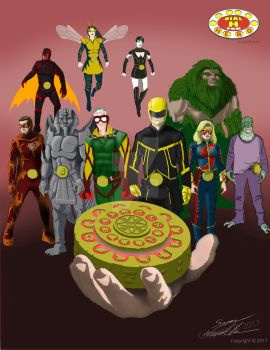 Concept Art Cw Dial H Wip by Needham-Comics