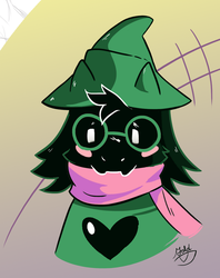 Ralsei (one of many) by Goldthecat