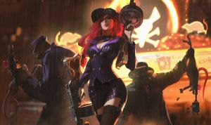 League of Legends - Mafia Miss Fortune by snatti89