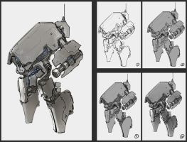 anti-infantry robot by ProgV