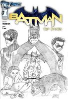 Batman - The Ronin cover by TheRafaLee
