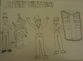 Eddsworld christmas by ForensicBec