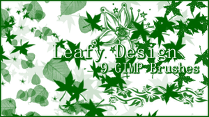 GIMP Leafy Designs by Illyera