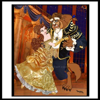 BELLE AND THE BEAST,FAIRYTALE DISNEY!!! by Rob32