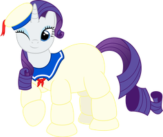 The Stay-Puft Marshmallow Mare by Jezendar