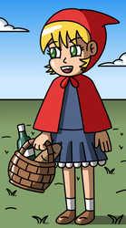 Another little red riding hood by Maleiva