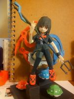 Nue Houjuu Paparcraft by KrystalizedArtist9