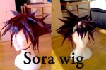 Sora wig by ShadowFox-Cosplay