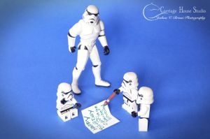lego Stormtroopers - Bday card by Jbressi