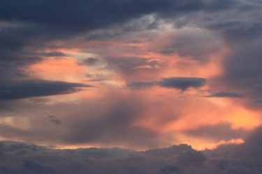 Glowing clouds by CAStock