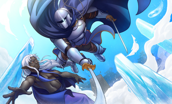 TL: Clash of ice and steel by dragoonwys