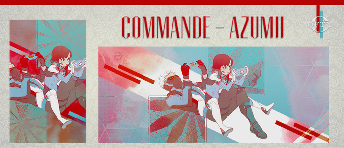 Commande - Azumii by Offty